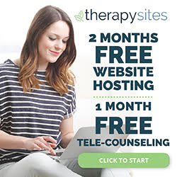 TherapySites — 2 months free website hosting + 1 month free tele-counseling
